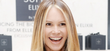 Elle Macpherson keeps a pH balance urine tester kit in her purse, of course