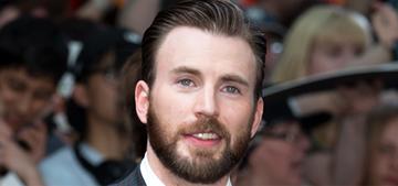 Chris Evans thinks Captain America is probably still a virgin