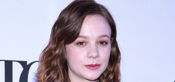 Star: Carey Mulligan is knocked up, thus the unflattering sack dresses