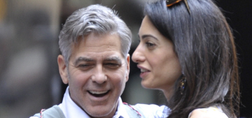 Us Weekly: George Clooney 'is very involved in selecting Amal's looks'