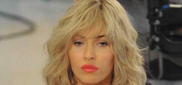 Megan Fox dons cheap blonde wig for 'TMNT 2′: tragic or not that bad?