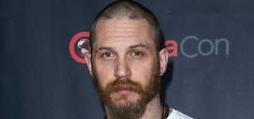 Tom Hardy: 'I'm monosyllabic & sometimes just allowed to play in the corner'