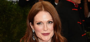 Julianne Moore in Givenchy at the Met Gala: striking or disappointing?