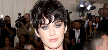 Katy Perry in Moschino at the Met Gala: did she nail the theme?