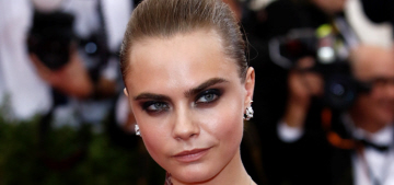 Cara Delevingne in Stella McCartney at the Met Gala: Angry Baby Realness?