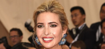 Ivanka Trump in Prabal Gurung at the Met Gala: preppy perfection or too much?