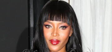 Naomi Campbell in mossy Burberry at the Met Gala: beautiful or budget?