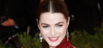 Bee Shaffer in Alexander McQueen at the Met Gala: one of the prettiest looks?