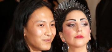 Lady Gaga & Alexander Wang smoked pot together at the Met Gala
