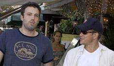 Matt Damon and Ben Affleck in South Beach
