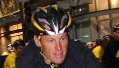 Lance Armstrong hospitalized after bike crash in Spain