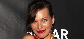 Milla Jovovich co-sleeps with her 7 yr old daughter: it builds 'trust' & 'respect'