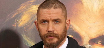 Tom Hardy & Jason Momoa at the 'Mad Max' premiere: who would you rather?
