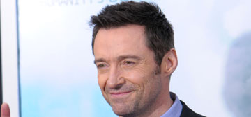 Hugh Jackman: 'it's stupid' to tan, 'if you get color, you damage your skin'