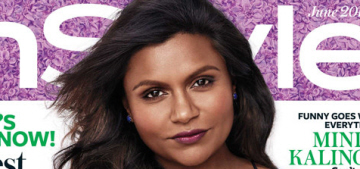 Mindy Kaling covers InStyle, talks her 'weird as hell' relationship with BJ Novak