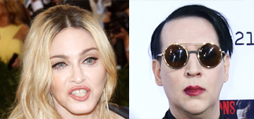 Madge snarkily rebuffed Marilyn Manson's gracious offer to 'fornicate'