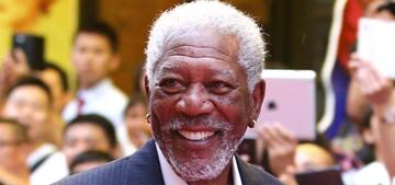 Morgan Freeman loves weed so much: 'I'll eat it, drink it, smoke it, snort it!'