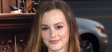 Leighton Meester says she's 'never really been dumped' by a guy: humblebrag?