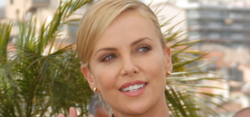 Charlize Theron in Valentino at the Cannes 'Mad Max' photocall: cute or awful?
