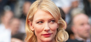 Cate Blanchett in Armani Privé at Cannes 'Sicario' premiere: beautiful or basic?