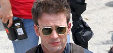 """Chris Evans brought his Dorito realness to the 'Civil War' set"" links"