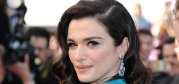 Rachel Weisz in teal Prada at Cannes 'Youth' premiere: beautiful or budget?