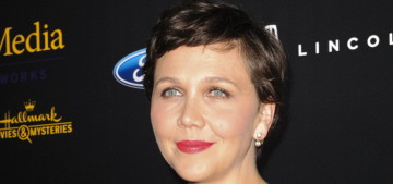Maggie Gyllenhaal, 37, was told she was 'too old' to play the wife of a 55-year-old