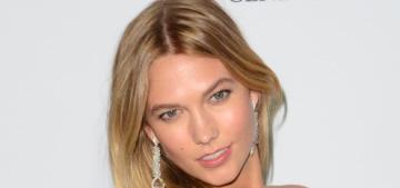 """Karlie Kloss's Oscar de la Renta gown was her best Cannes outfit"" links"
