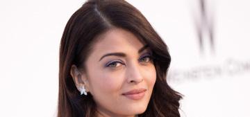 Aishwarya Rai in lilac Elie Saab at Cannes amfAR gala: beautiful or boring?
