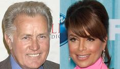 Martin Sheen can't remember how he knows Paula Abdul