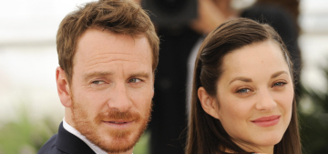 Michael Fassbender & Marion Cotillard in Cannes: who would you rather?