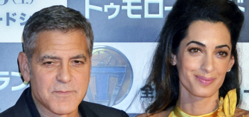 George Clooney: 'I'm a big believer in the idea that you can't try to look younger'