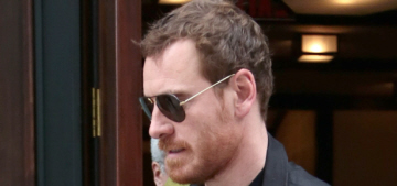 Michael Fassbender steps out in NYC: will he do an Oscar campaign this year?