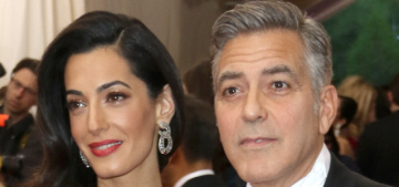 Star: Amal Clooney's a golddigging social climber & she refused to sign a prenup