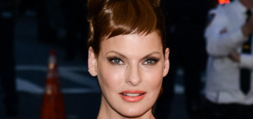 Linda Evangelista throws subtle shade at Tyra Banks & America's Next Top Model