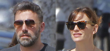 Ben Affleck and Jennifer Garner step out for a perfectly timed pap outing