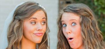 Jill & Jessa Duggar didn't ask Josh Duggar to be a part of their wedding parties