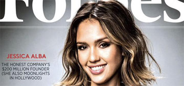 Jessica Alba covers Forbes Richest Women issue, her company is worth a billion