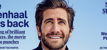Jake Gyllenhaal: 'We're 90% water, so we're affected by the moon when it's full'