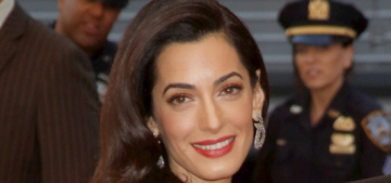 Did George Clooney lie when he proclaimed that Amal does not have a stylist?