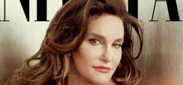 Bruce Jenner debuts her new female identity, Caitlyn, on Vanity Fair