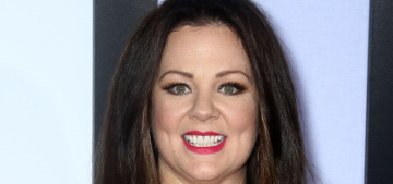 Melissa McCarthy shows off her 50-lb weight loss in her own design: awesome?