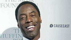 Isaiah Washington owes his landlord $100,000 in back rent