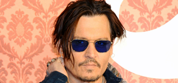 Johnny Depp will get his own Dior scent: smells like scarves & patchouli?