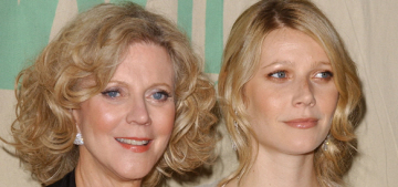 Blythe Danner: People are 'overwhelmed' by Gwyneth's 'accomplishments'