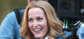 Gillian Anderson & David Duchovny are filming new X-Files: are you excited?