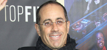 Jerry Seinfeld: 'There's a creepy PC thing out there that really bothers me'