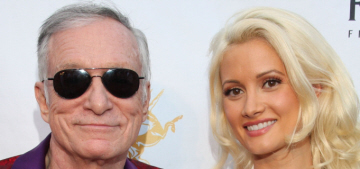 Holly Madison: Hugh Hefner offered me $3 million (in his will) to stay with him