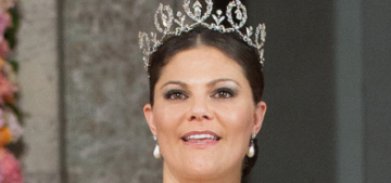 Princess Victoria leads the fabulous royal-jewelry parade at her brother's wedding