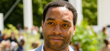 Chiwetel Ejiofor, 37, also received a CBE: will anyone complain about it?